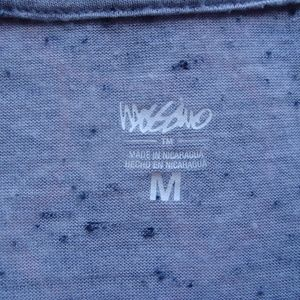 Mossimo Supply Co. Tops - Gray speckled v neck T w/pocket MED